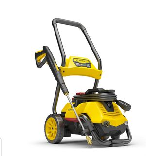 Learn more Stanley SHP 2150 PSI Electric Pressure Washer with Spray Gun, Wand, Hose, Nozzles & High Pressure Foam Cannon, Yellow for Sale in Grand Prairie, TX