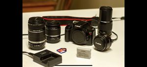 Canon T2i with Lenses for Sale in Park City, UT