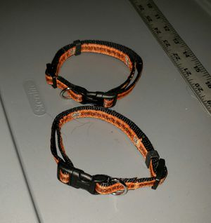 2 beavers pet collars for Sale in Vancouver, WA