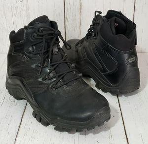 Bates Delta Side Zip Black Leather Military Tactical Boots E02346 Mens 9 for Sale in Harrisonburg, VA