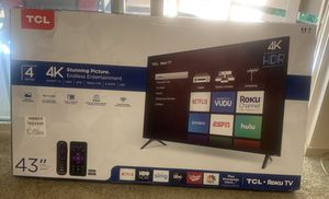 """TCL 43"""" ROKU Tv (New) for Sale in Woodinville, WA"""