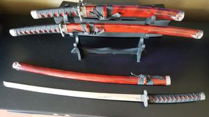Japanese Sword Set. Katana, Wakizashi, and Tanto for Sale for sale  National City, CA