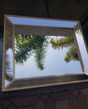 Decorative wall Mirror Gold color for Sale in Santa Ana, CA