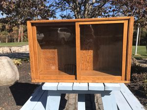 Wooden China Hutch for Sale in North Attleborough, MA