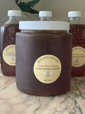 Raw pure natural Honey 🍯 6 lbs from central Florida for Sale in Hallandale Beach, FL