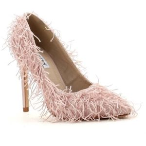 Blush fringe heel - multiple sizes available for Sale in Florissant, MO