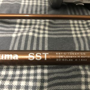 """SST Salmon Herring 10""""6 Foot 2pc Rod And Reel for Sale in Newberg, OR"""