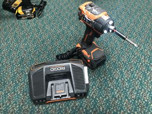 Impact Drill, Tools-Power RIDGID W/Battery & Charger... Negotiable for Sale in Baltimore, MD