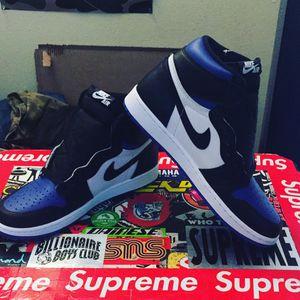 Jordan 1 Royal Toe sz 10,10.5 ($300 each) for Sale in Huntington Beach, CA