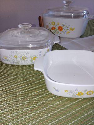 Corning Ware Casserole Set of 2 for Sale in Huntington Beach, CA