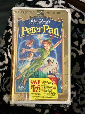Peter Pan VHS - Walt Disney's Masterpiece for Sale in Louisville, KY