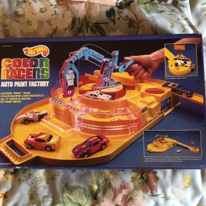 Hot Wheels Color Racers Auto Paint Factory for Sale in Danville, CA