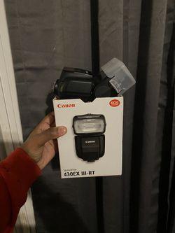 Canon Speedlite flash for Sale in Suffolk,  VA