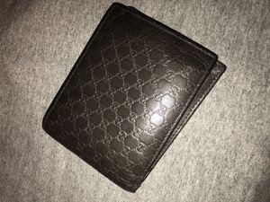 Gucci Men's Microguccissima GG Light Brown Soft Calf Leather Wallet for Sale in Santa Ana, CA