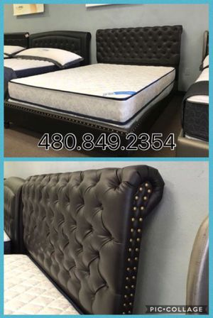 Queen Bed and Mattress for Sale in Glendale, AZ