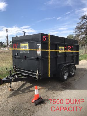 Dump trailer ( leer descripción ) for Sale in Riverside, CA