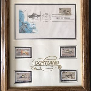 Cortland Fly fishing Stamps 1991 for Sale in Everett, WA