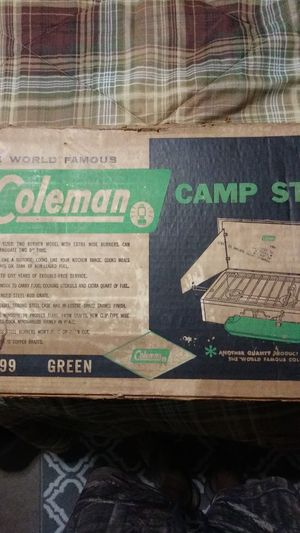 Vintage coleman camping stove new for Sale in Fort Myers, FL