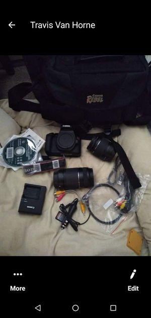 Brand New Cannon eos rebel t6 DSLR camera kit for Sale in Spokane, WA
