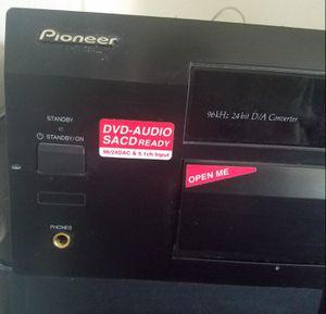 Pioneer receiver vsx D811 S + 2 Polk Audio speakers for Sale in Phoenix, AZ