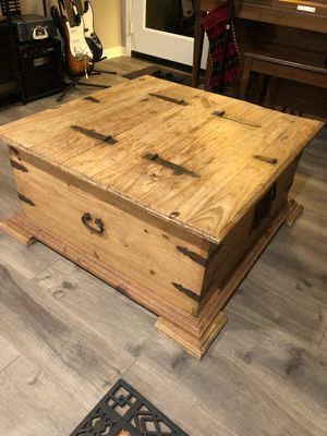 Antique wooden table, LARGE STORAGE SPACE for Sale in Pomona, CA