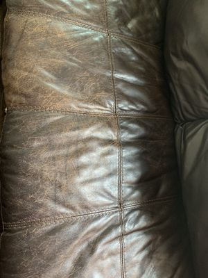 Faux leather sectional for Sale in Ridgefield, WA