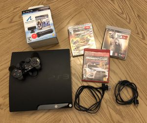 PlayStation 3 (PS 3 120 GB) with games and move bundle for Sale in Miami, FL