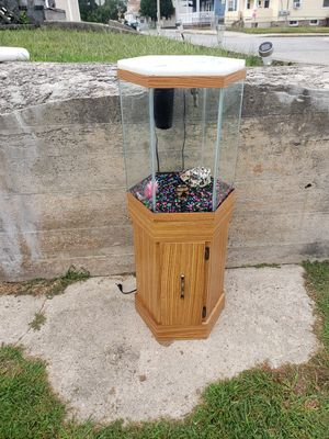 Hexagon fish tank for Sale in Woonsocket, RI