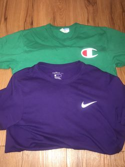 Nike And Champion Shirts for Sale in Indianapolis,  IN