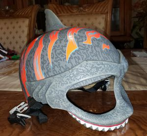 C-preme Raskullz Shark Mask Bicycle Helmet Child 5-8 Years for Sale in Silver Spring, MD