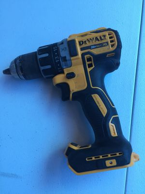 Dewalt 20 Volt MAX XR Brushless Cordless Compact Drill Driver Tool Only for Sale in Mesa, AZ