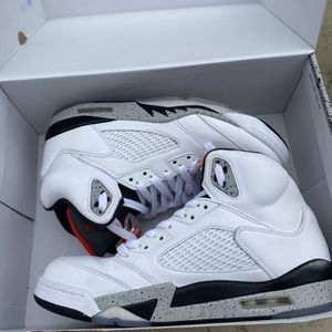 Jordan 5 White Cement for Sale in Arlington, TX