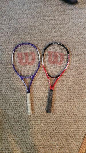 Wilson Triumph and Wilson Impact tennis rackets. for Sale in Woodbridge, VA