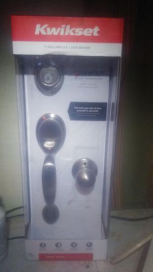 Kwikset #1 lock brand bump proof pick resistant for Sale in Wildomar, CA