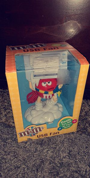 M&M's USB Fan Collectible for Sale in Goldsboro, PA