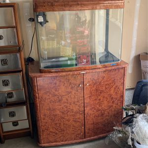 50gal Fish Tank With Accessories for Sale in Fremont, CA