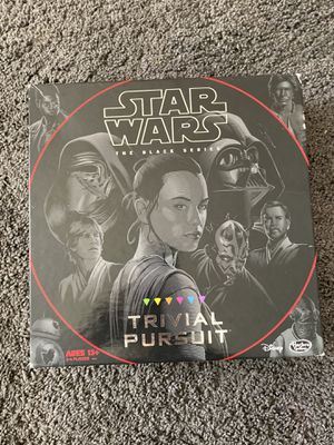 Star Wars Disney game trivial pursuit opened box but never used for the kids or adults for Sale in Paramount, CA