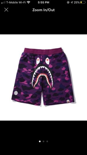 Bape shark shorts for Sale in Los Angeles, CA