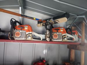 Stil chainsaw in good condition nothing's wrong $450 each for Sale in Riverside, CA