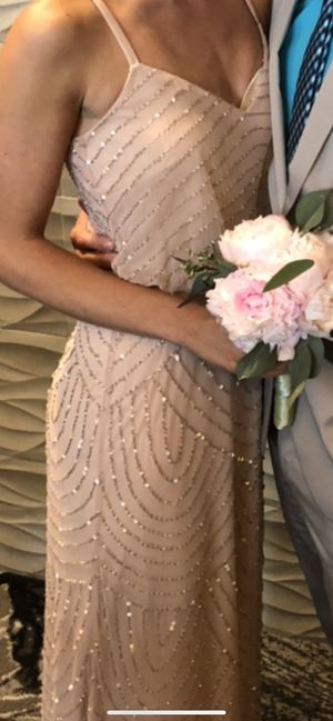 Blush Adrianna Papell Dress for Sale in Bartlett, IL