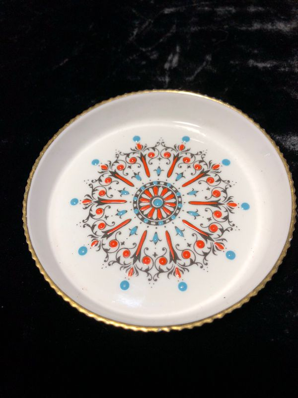 Royal Worcester England coasters Hand Painted