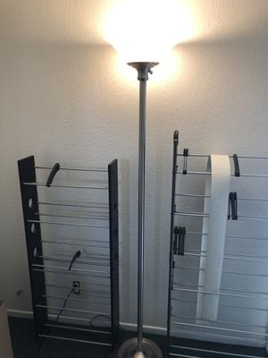 5 ft Torchiere Lights x2 for Sale in Santa Maria, CA
