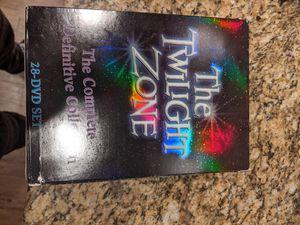 Twilight zone dvd for Sale in Chula Vista, CA