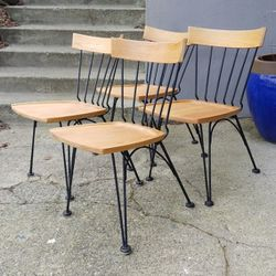 Russell Woodard Mcm Dining Shovel Chairs for Sale in Seattle,  WA