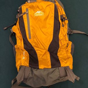 Topsky Sports Waterproof Internal Frame Backpack, Orange for Sale in Redwood City, CA