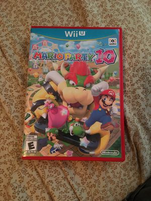 Mario Party 10 Wii U for Sale in Joppa, MD