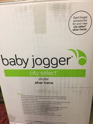 Baby Jogger City Select Stroller (Silver Frame) for Sale in Austin, TX