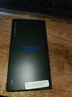 Samsung Galaxy Note 8 AT&T - NOW UNLOCKED for Sale in Encinitas, CA