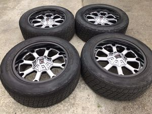 20 INCH XD SERIES RIMS AND TIRES, 6 lug universal for Sale in Auburn, WA