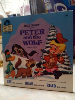 Walt Disney PRESENTS : PETER and the WOLF for Sale in Tacoma, WA